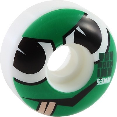Колесо (комплект) Toy Machine Angry Turtle Face Natural 53 mm/100A