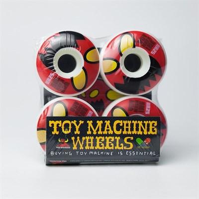 Колесо (комплект) Toy Machine Monster Face Natural 52 mm/100A