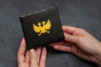 Кошелек New Wallet - New Герб; сделан из Tyvek®