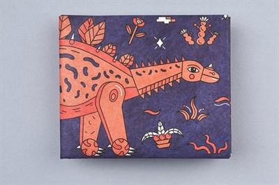 Кошелек New Wallet - New Dinosaur;сделан из Tyvek®