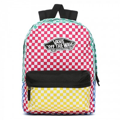 Vans Рюкзак WM REALM BACKPACK CHECKER BLOCK VA3UI6ZL1