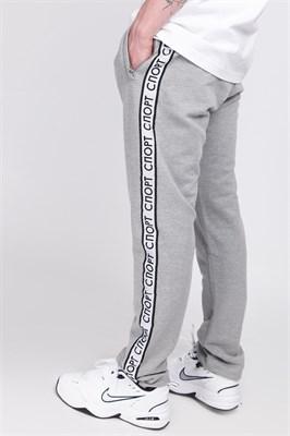 Брюки Запорожец Sport pants 2 grey melange