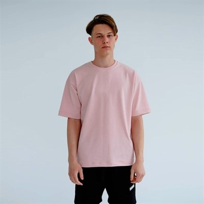Футболка КУЛЬТУРА OverSize, бледно розовый