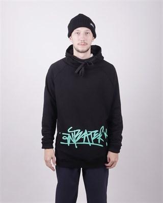 Толстовка Anteater hoodie-tag_black