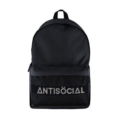 Рюкзак Anti Social CITY BACKPACK BLACK-WHITE