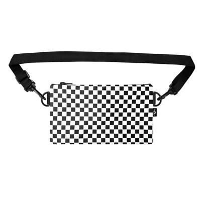 Пенал-сумка ТАЙНА Черный/шашка бел.