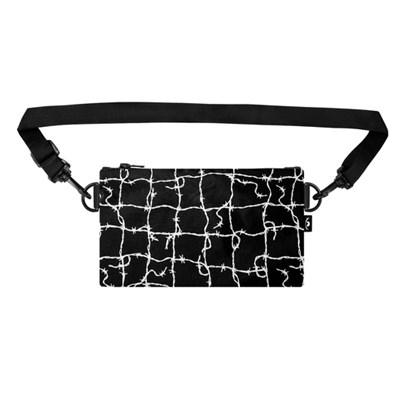 Пенал-сумка ТАЙНА Черный/колючка бел.