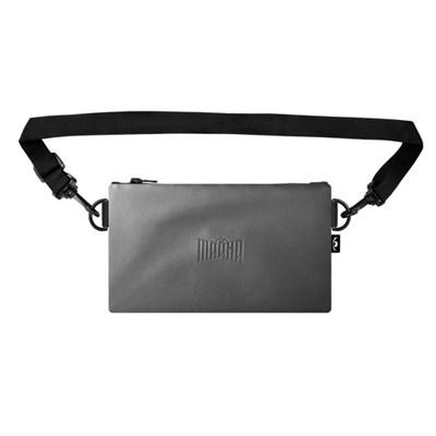 Пенал-сумка ТАЙНА Серый экокожа