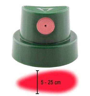 cap Level 6 темно-зеленый с розовой вставкой 5-25см