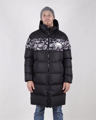Куртка Anteater Downlong-bandana_black