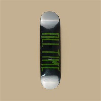 Дека ALL TIME 2 tone GREEN 8.5 X 32.25