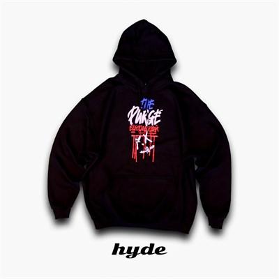 Худи Hyde черное/PURGE