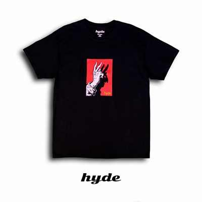 Футболка Hyde черная/DEVIL