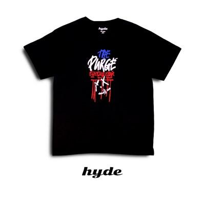 Футболка Hyde черная/PURGE