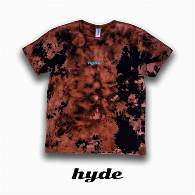 Футболка Hyde черная/TYEDYE