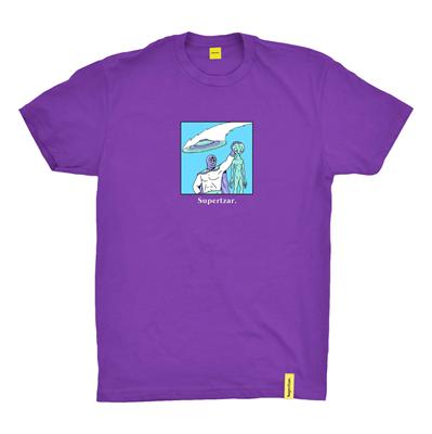 Supertzar Футболка Alien Purple