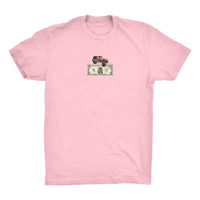 Supertzar  Футболка BIGFOOT Pink