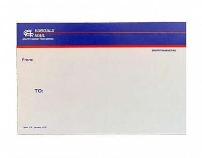 Стикер Vandals Mail A4