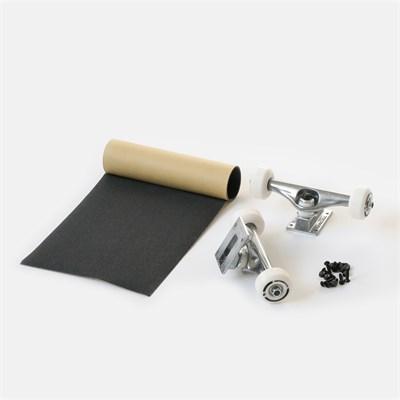 Набор для сборки Комплита RAW (подвески и колеса в сборе+комлект винтов+наждак в рулонах) (ширина: 5,25'')