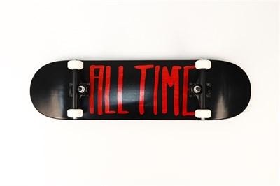 Скейтборд в сборе ALL TIME 2 tone RED 8.50 X 32.25