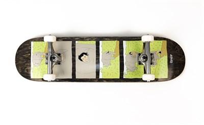 Скейтборд в сборе RIPNDIP  Nature Calls Board 8,25