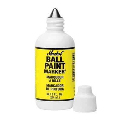 Маркер MARKAL Ball Paint черный 60мл.