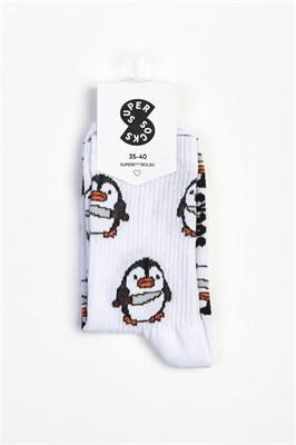 Носки SUPER SOCKS Пингвин