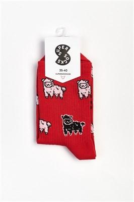 Носки SUPER SOCKS Черная овечка