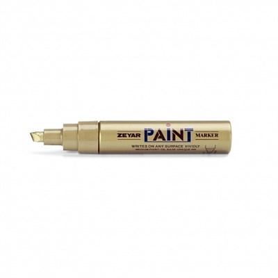 Zeyar Paint Маркер 8,5 мм серебро скошенное перо