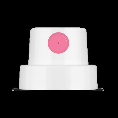 cap Rosa Fat 9005 белый с розовой вставкой 12см