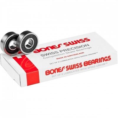 Подшипники Bones Swiss 8 Packs Ss17 Assorted 8Mm