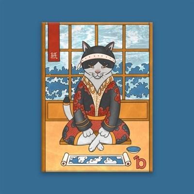 Обложка на паспорт BUMAGA Armor cat