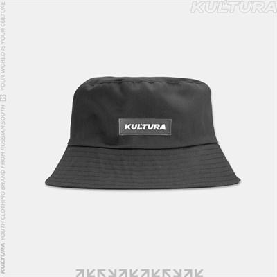 """Панама КУЛЬТУРА """"New logo"""", темно-серый"""