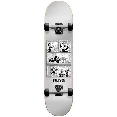 Скейт в сборе Darkstar Felix News FP  Silver 7.875