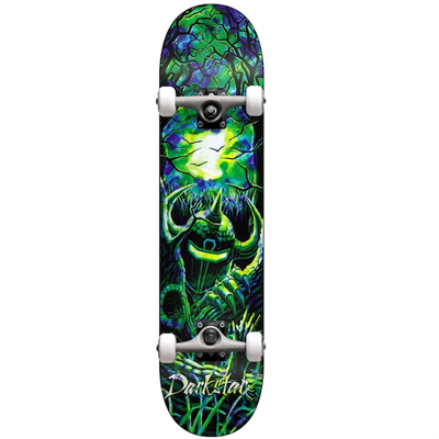 Скейт в сборе Darkstar Woods FP  Green/Blue 8.125