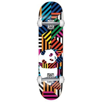 Скейт в сборе Enjoi  Panda Stripes Resin  w/Soft Wheels Multi 7.75