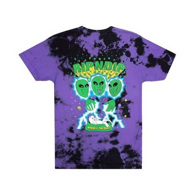 Футболка RIPNDIP Nebula Tee Purple & Black Dye