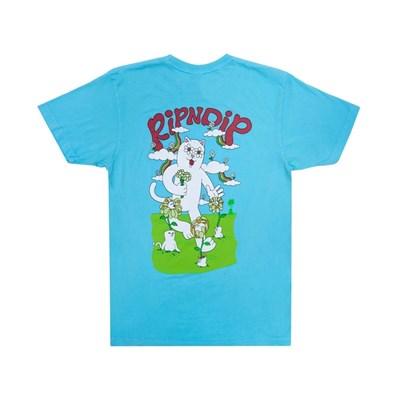 Футболка RIPNDIP Flower Power Tee Baby Blue