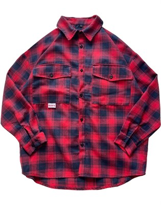 Рубашка БИЧ красная