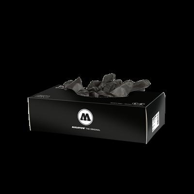 Перчатки резиновые черные Molotow 800416