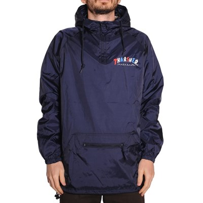 Анорак Thrasher KNOCK-OFF PULLOVER ANORAK NAVY