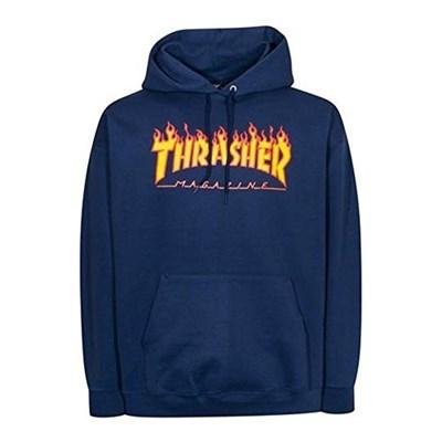 Худи THRASHER FLAME LOGO HOOD L