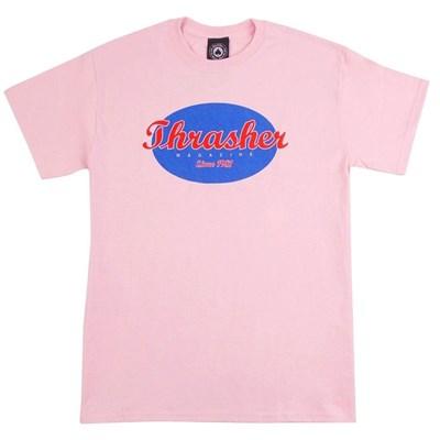 Thrasher Футболка OVAL S/S Pink