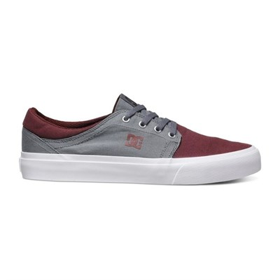 Обувь DC Trase tx oxblood grey