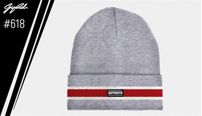 """Шапка """"GIFTED"""" knitfleece17/618 светло-серый"""
