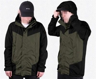 "Куртка ""GIFTED"" SS18/110 хаки-черный"