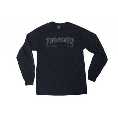 Thrasher Лонгслив WEB L/S BLACK