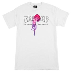 Thrasher Футболка ATLANTIC DRIFT S/S White