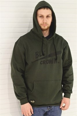 Blk Crown Худи Bat dark green