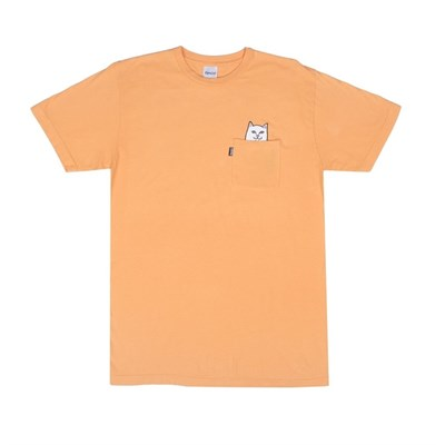 RIPNDIP Футболка Lord Nermal Pocket Tee Over Dyed Orange